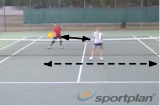 Touch move rally (forehand) Drill Thumbnail