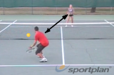 Pop rally (backhand) | Volley Drills