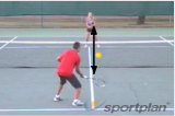 Pop rally (forehand) Drill Thumbnail