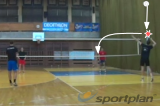Pass just over the net Drill Thumbnail
