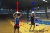 Overhand throw-catch | 4 Passing Drills