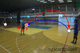 Receive, return and spin4 Passing DrillsVolleyball Drills Coaching