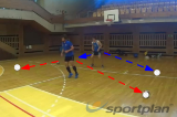 Shuffle and imitate4 Passing DrillsVolleyball Drills Coaching