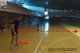 Defence position - balance quick jumps Drill Thumbnail
