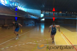 One legged balance jumps2 Warm UpVolleyball Drills Coaching