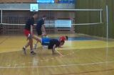Flexed Arms2 Warm UpVolleyball Drills Coaching