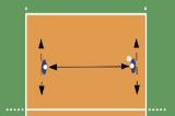 Sideways Underhand Passes Drill Thumbnail