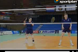 2 Player Block1 TechniquesVolleyball Drills Coaching