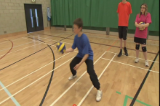 Ball arm to arm3 Grass rootsVolleyball Drills Coaching