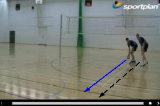 Run out in front 1.2 Warm UpVolleyball Drills Coaching