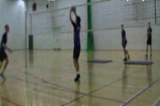 Team Passing - Attacking One Handed TipVSG:2V2 HIGH COURTVolleyball Drills Coaching